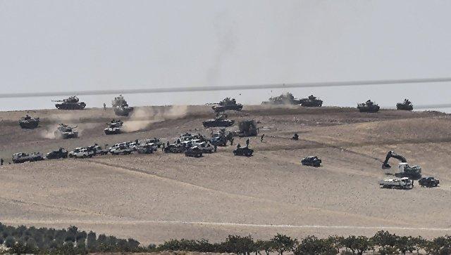 Сирия считает несоблюдением суверенитета турецкую военную операцию