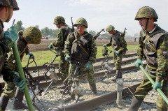 Этот профессиональный праздник приурочен ко дню образования специальных воинских формирований для охраны и эксплуатации железной дороги (Фото: sibr.ru)