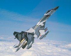 СУ-27 состоит на вооружении ВВС РФ