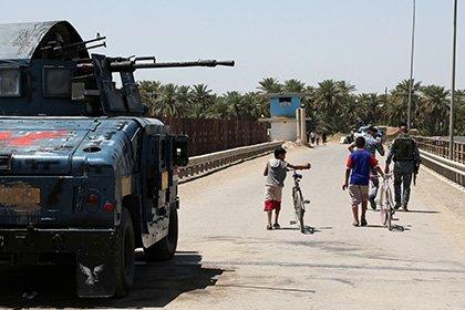 В иракском ополчении воюют дети