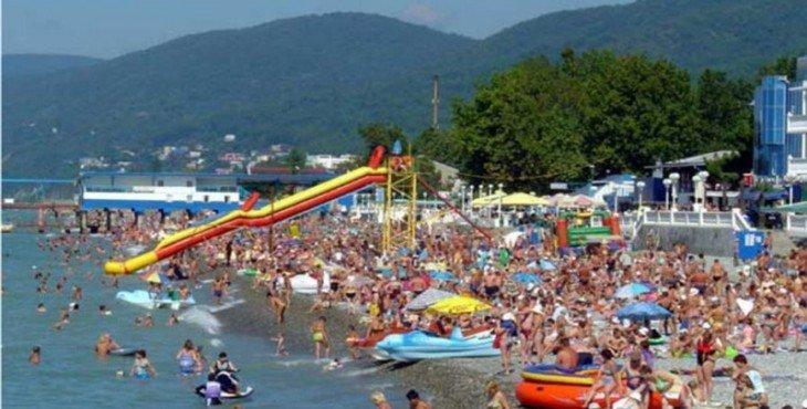 более 275 тысяч отдыхающих зарегистрировано в Сочи