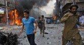 Взрыв в больнице в Пакистане