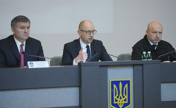 Допрос Яценюка, Авакова и Турчинова