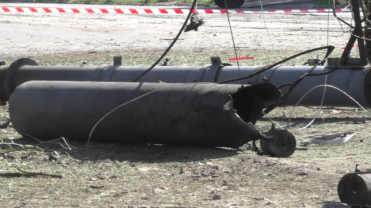 Появилось видео со взорванной машиной главы ЛНР