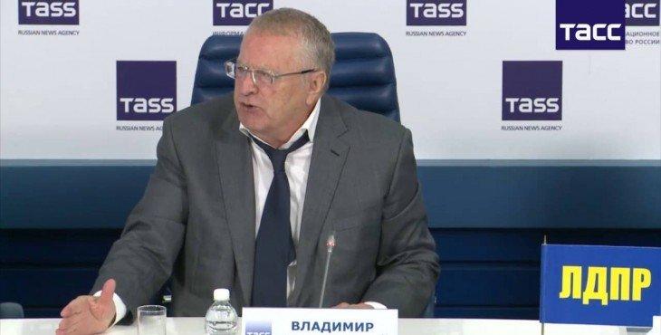 Жириновский сравнил Хилари Клинтон с «женщиной-алкоголичкой»