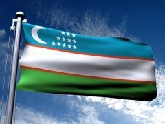 Флаг Республики Узбекистан