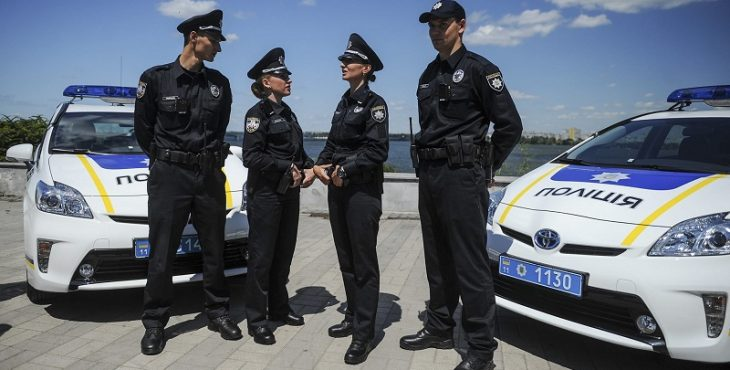 Автомобили для украинской полиции купят на «киотские средства»