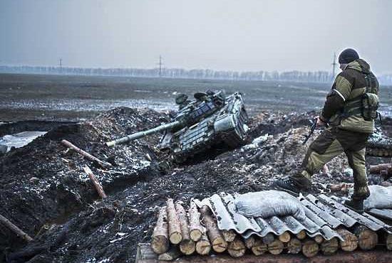 Украина отказалась отвести войска от Луганска