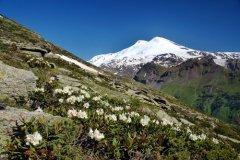 Высочайшая вершина Европы — гора Эльбрус — расположена на территории Кабардино-Балкарии (Фото: Juraj Pekarek, Shutterstock)