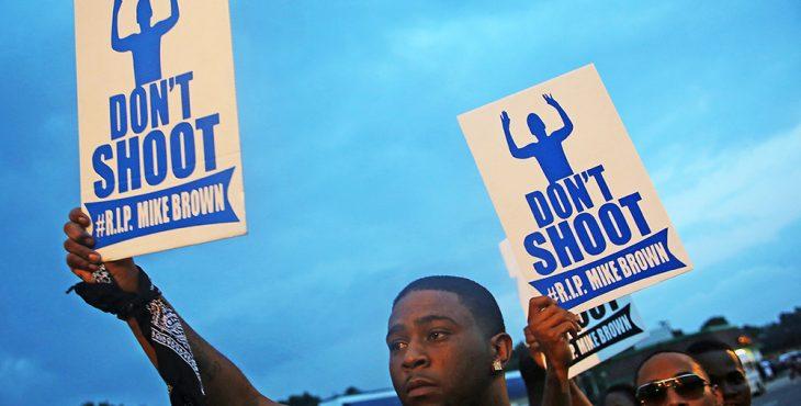 В США во время протеста ранили 12 полицейских