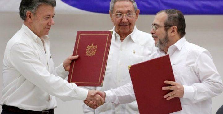 Историческое соглашение – окончание войны в Колумбии