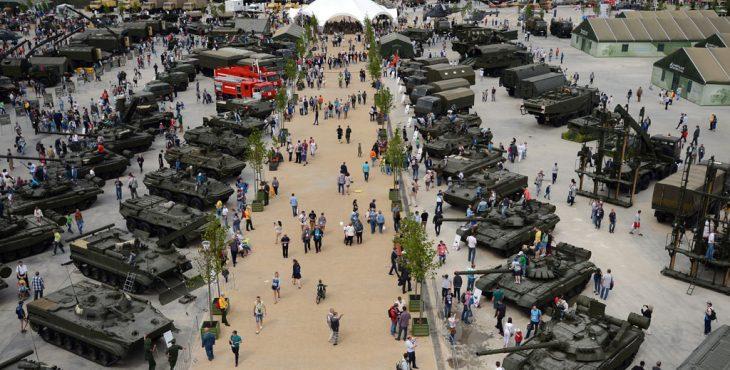 Открытие военно-технического форума «Армия-2016»