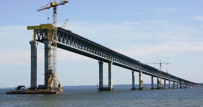 Представлено новое панорамное видео Крымского моста