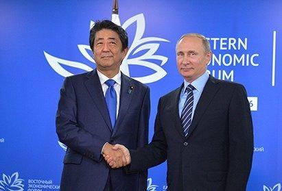 Премьер Японии рассчитывает наоткровенный разговор сПутиным