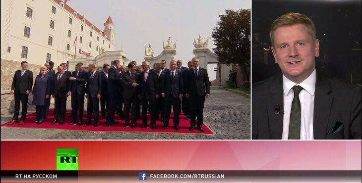 Брексит, мигранты и экономический кризис: что обсуждали лидеры ЕС на саммите в Братиславе