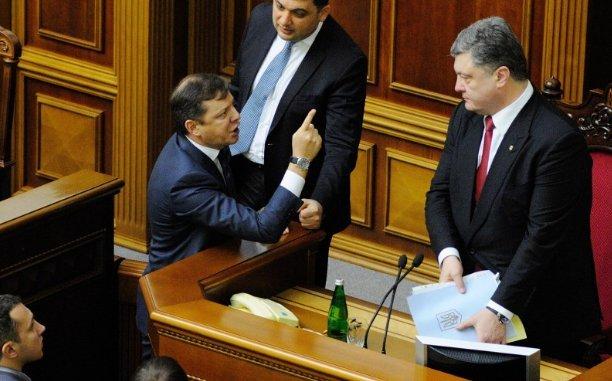 Ляшко: Порошенко симулировал исполненье договоров, чтобы обмануть В.Путина