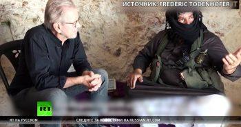 Немецкий журналист — RT: Американцы знают, что их оружие попадает к террористам в Сирии