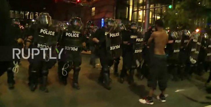 США бунтует, начались массовые беспорядки после убиства полицией афроамериканца — прибыла Нацгвардия США