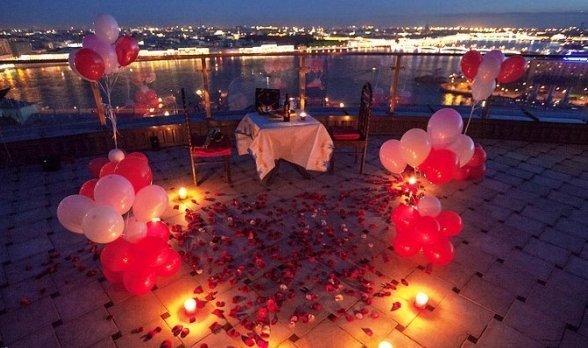 Как сделать девушке романтический вечер