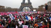 франция протестует
