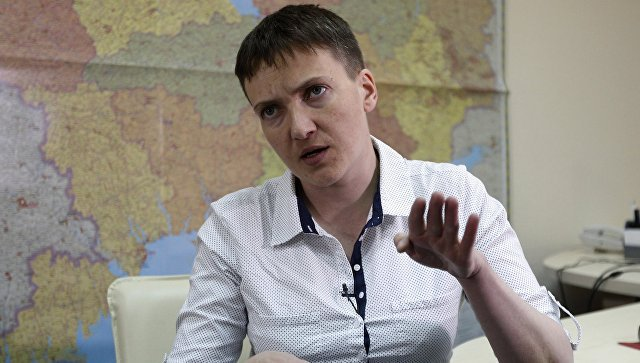 Савченко поведала  опоездке вДонбасс