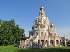 Церковь Покрова Пресвятой Богородицы в Филях, Москва (Фото: Alesem, Shutterstock)