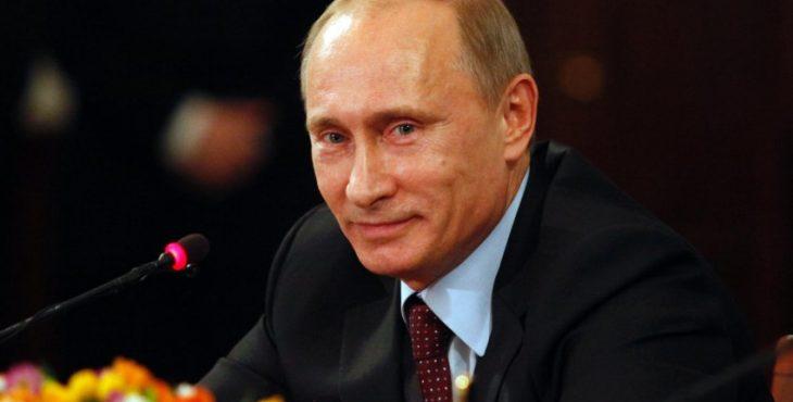Президенту России Владимиру Путину – 64! Фотоколлаж