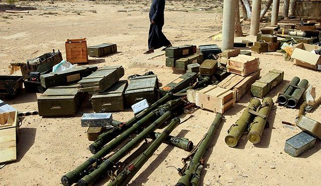 США поставляли оружие ливийским исламистам