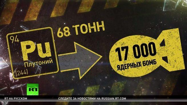 Плутониевый пиар Путина