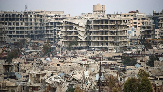 в Дамаске обстреляли посольство