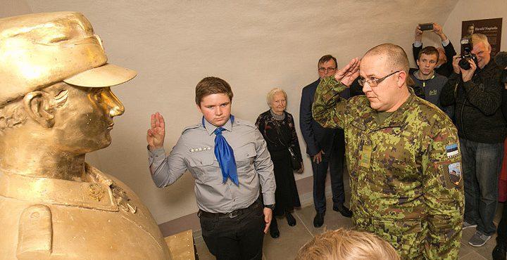 В Эстонии появился памятник офицеру СС