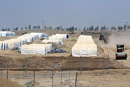 Военные США начали строить базу для штурма Мосула