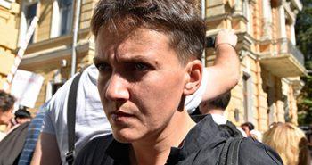 Савченко допрашивали в СБУ