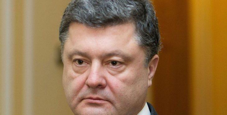 порошенко благодарит путина