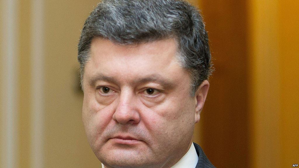 Петр Порошенко поблагодарил В. Путина Владимира