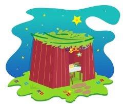 Праздничный шалаш (Фото: bilha golan, Shutterstock)