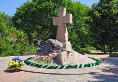 Мемориал украинским казакам, Полтава (Фото: Mikhail Markovskiy, Shutterstock)
