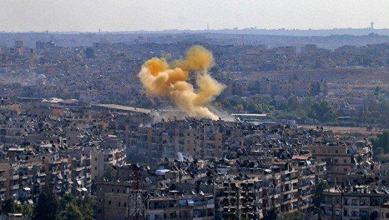 Боевики ИГ в Алеппо применили «Грады»