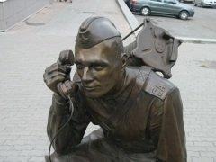 Памятник «Военный связист», Екатеринбург