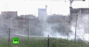 Боевики ИГ атакуют иракский Киркук — прямая видео трансляция с места боя