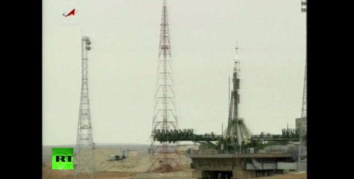 Старт экспедиции к МКС с Байконура — прямая трансляция