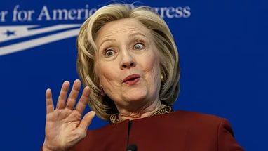 клинтон опять попалась