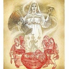 Макошь — богиня брака, родов, покровительница девушек
