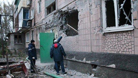 Обстрел Донецка – повреждено девять домов