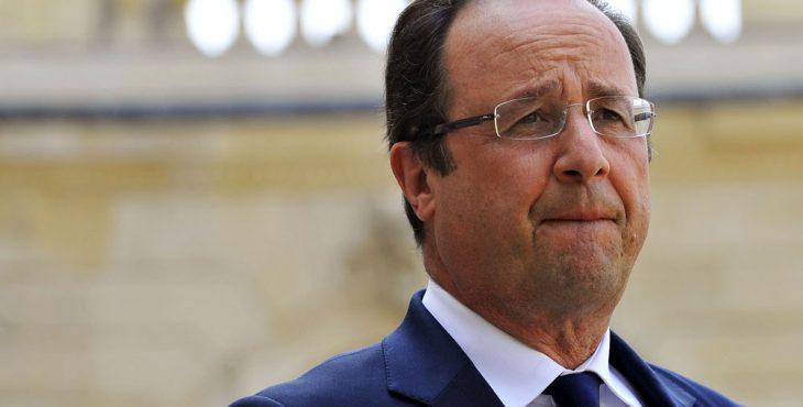 Олланд попал в неловкую ситуацию