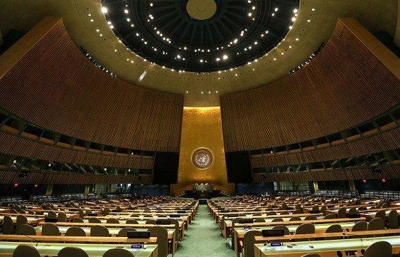 Долги Украины лишают её право голоса в Генассамблее ООН