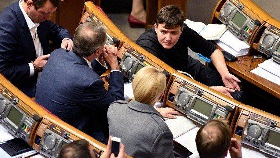 Савченко запретят участвовать в заседаниях Верховной рады