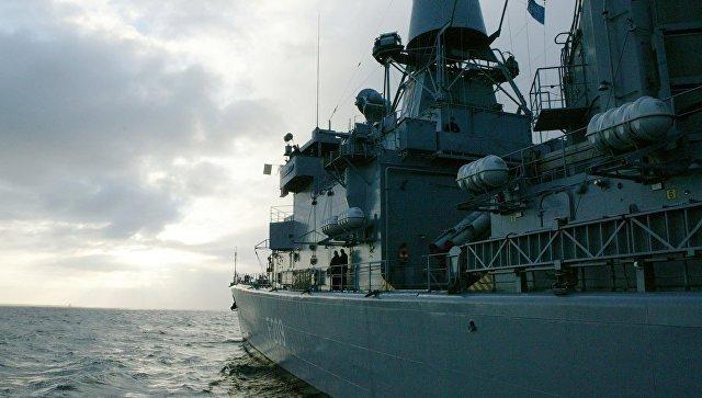 Влитовский порт Клайпеды прибывает группа кораблей НАТО