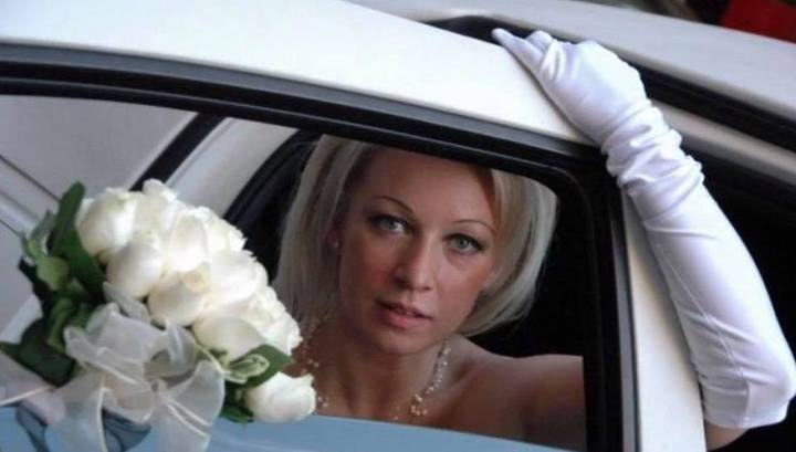 Захарова раскрыла детали собственной свадьбы вНью-Йорке