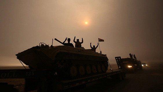 Армия Ирака установила полный контроль над одним из районов Мосула